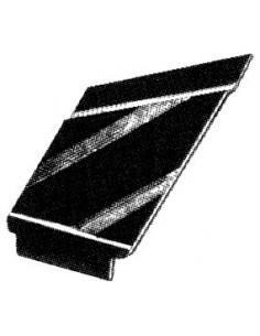 Joints de centrage de fermeture de capote pour Coccinelle cabriolet 73-79