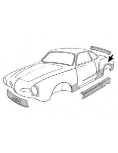 Tour d' aile arrière pour Karmann-Ghia 56-74