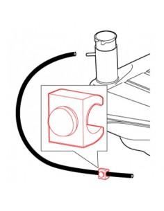 Clip de durite de mise à l'air libre du réservoir pour Coccinelle 61-67